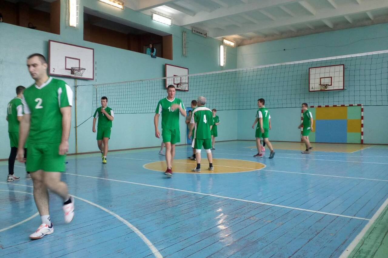 Районный турнир по волейболу