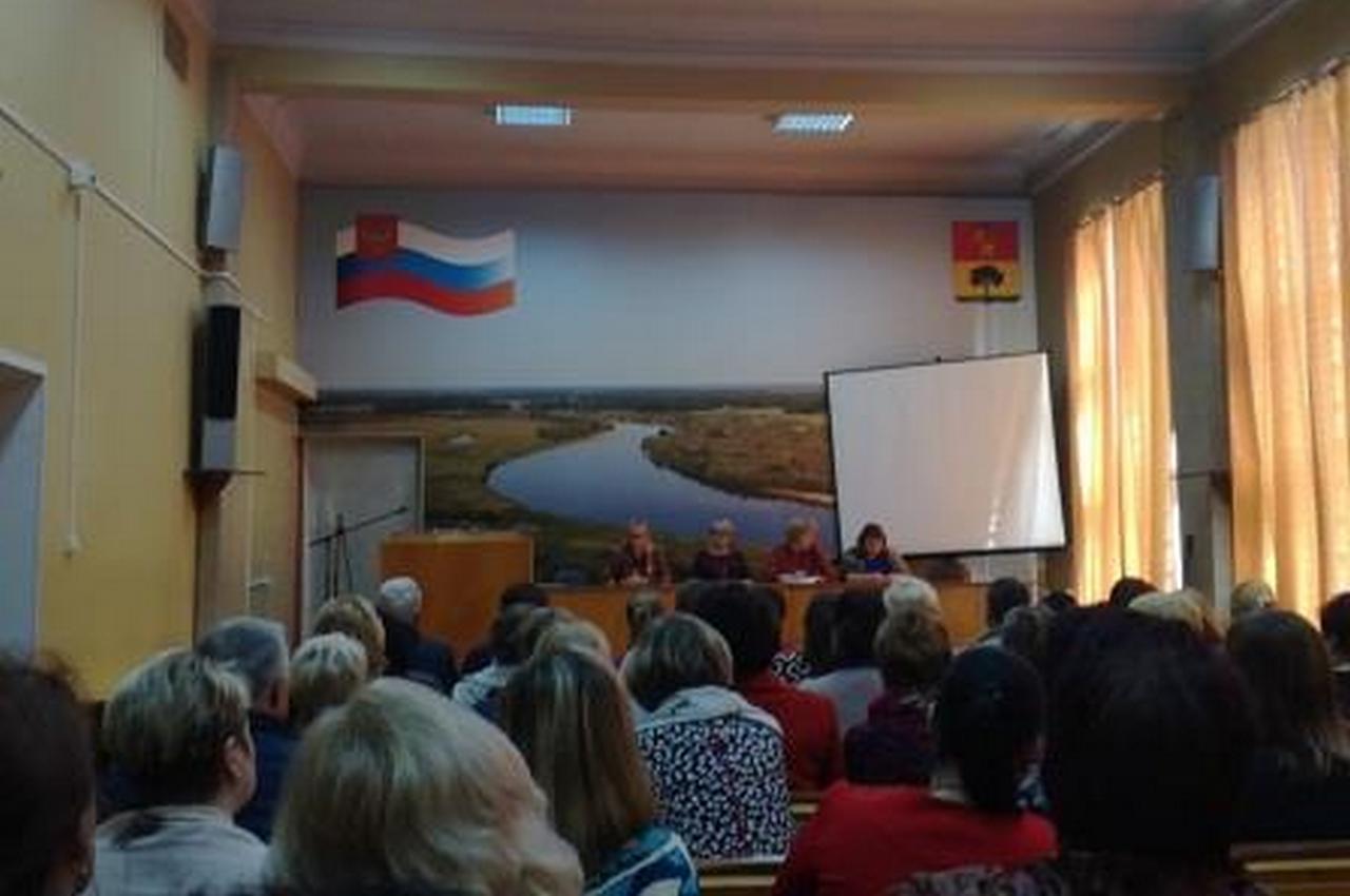 Встреча с директором департамента культуры Владимирской области