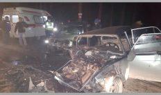 В дорожной аварии пострадали пять человек