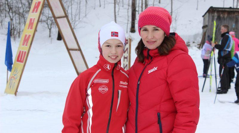 Наталья Егорова,лыжница,Вязники,