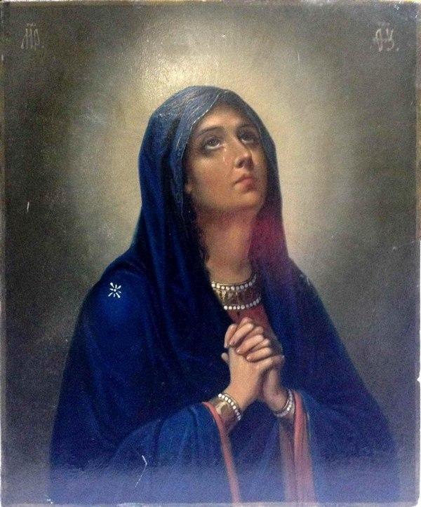 икона Скорбящая Божья Матерь,Скорбящая Богородица,