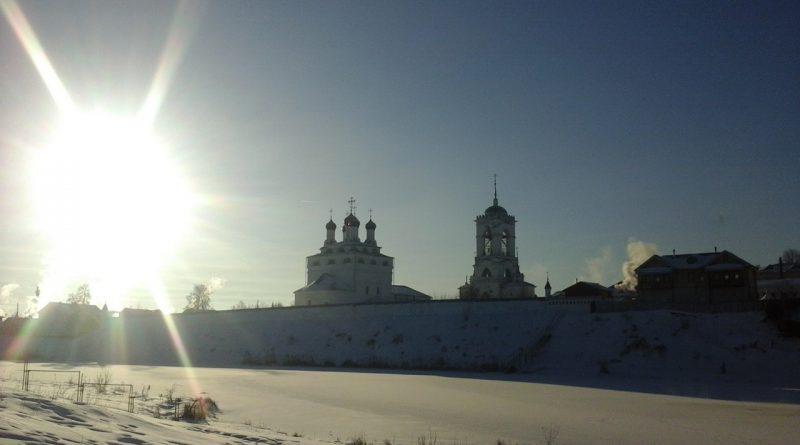 мстера,зима,мстера,богоявленский собор,