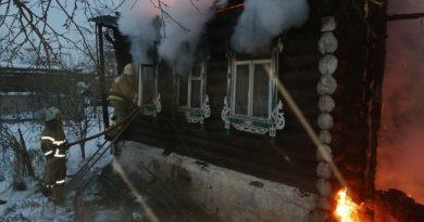 пожар,Серково,Вязниковский район,