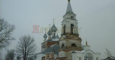 Троицкое-Татарово,Мстёра,зима,храм,Церковь Рождества Пресвятой Богородицы