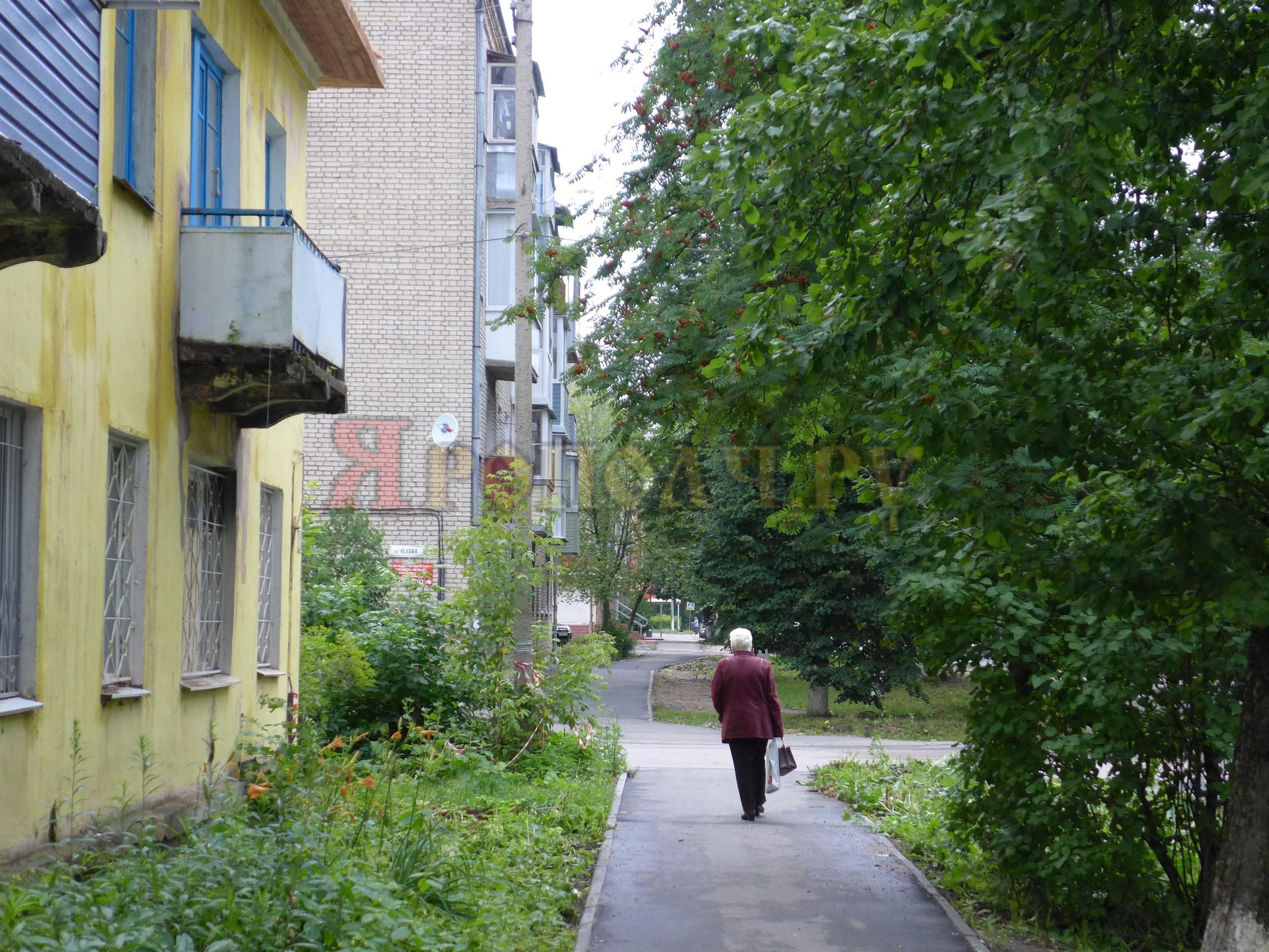 тротуар,Вязники,Комсомольская,