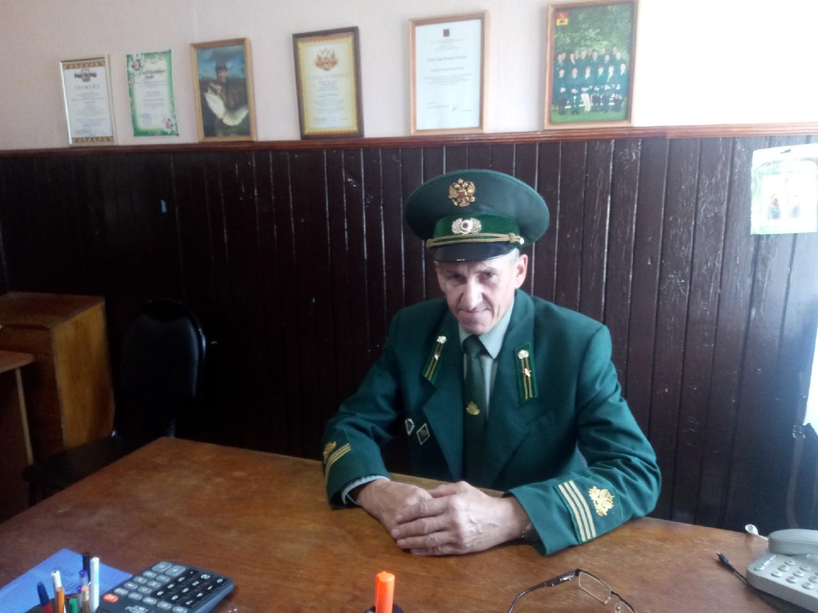 лесничий,лесник,Журбенко Николай Борисович,Мстёра,