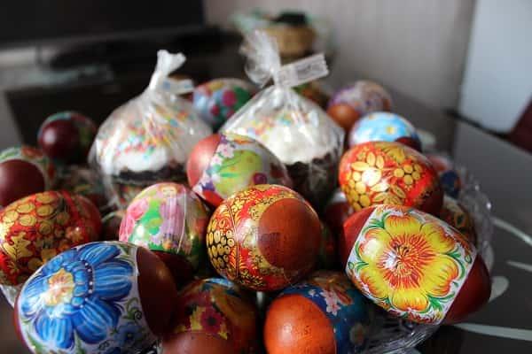 пасхальные яйца,крашеные яйца на пасху,