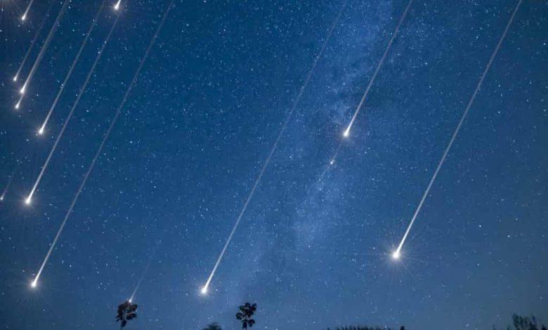 звездопад,метеоритный дождь,метеоры,