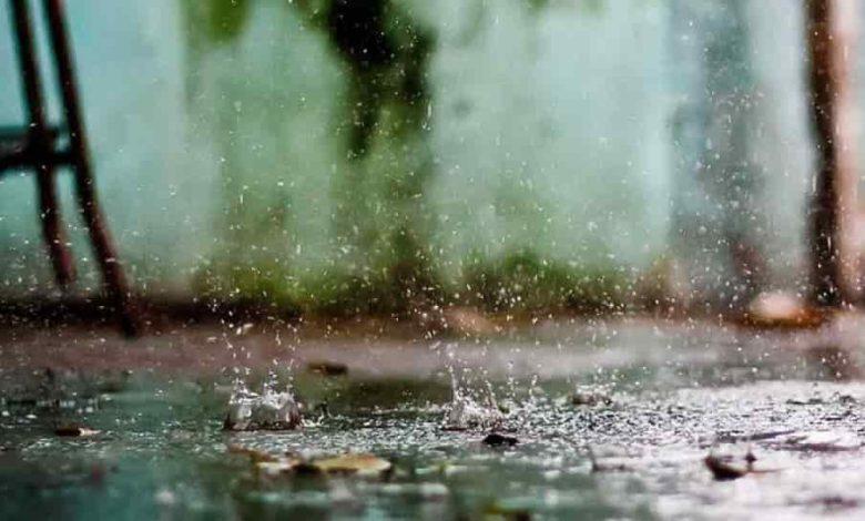 дождь,