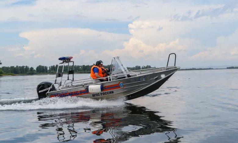 открытие навигации маломерных судов,лодка мчс,