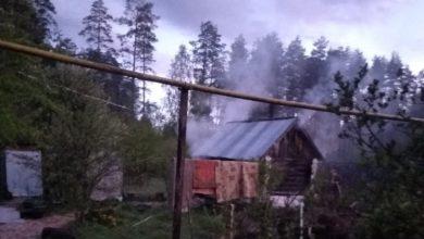 Photo of На станции Мстера горела частная баня