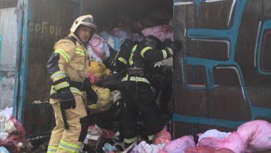 Photo of Сгорел склад, забитый медотходами и биоматериалом, которые могут представлять опасность