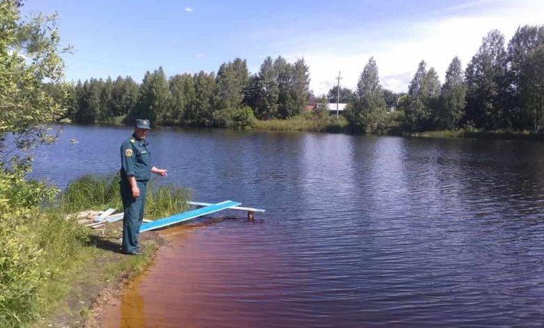 Вязники озеро Подгорное ГИМС рейд,