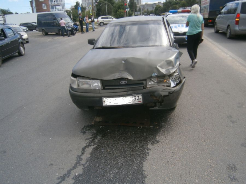ДТП Владимир 26.07.2020