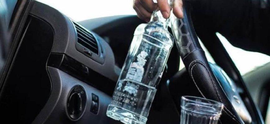пьяный за рулем, управление транспортным средством в состоянии опьянения,