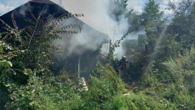 Photo of Во Мстёре утром сгорел жилой дом