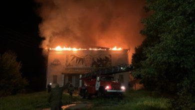 Photo of В Вязниках сгорел кинотеатр. Предварительная причина пожара — поджог