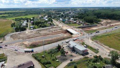 Photo of В городе Вязники изменится схема движения по федеральной трассе М-7