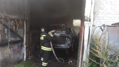 Photo of В Вязниковском районе сгорел легковой автомобиль