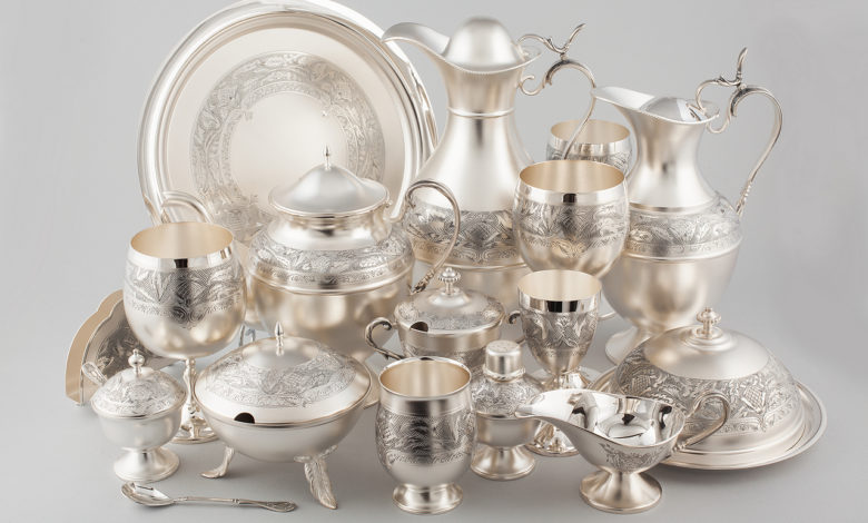 серебряная посуда мстёрский ювелир,