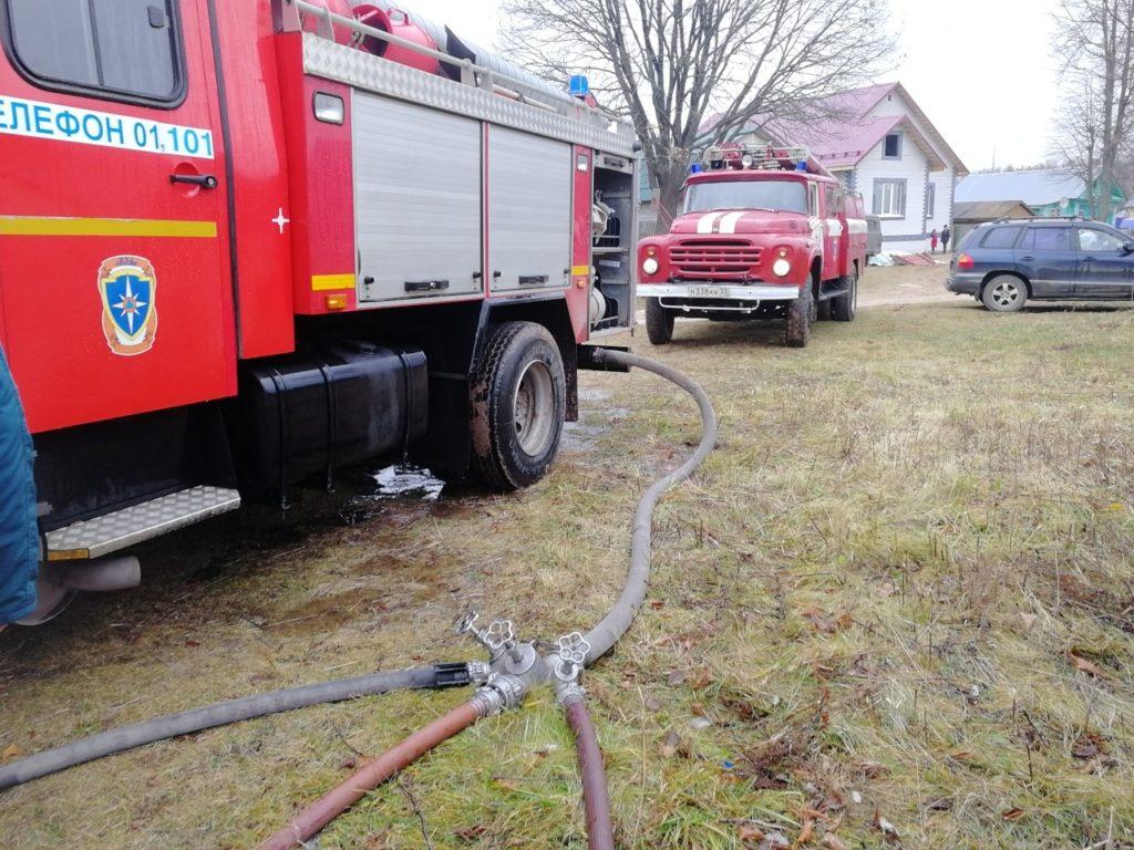 Никлогоры пожар,сгорел дом в Никологорах,