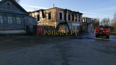 Photo of Сгорело похоронное бюро. Причина пожара — поджог