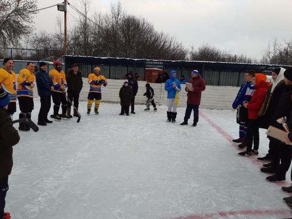 хоккей новогодний кубок вязники 2021