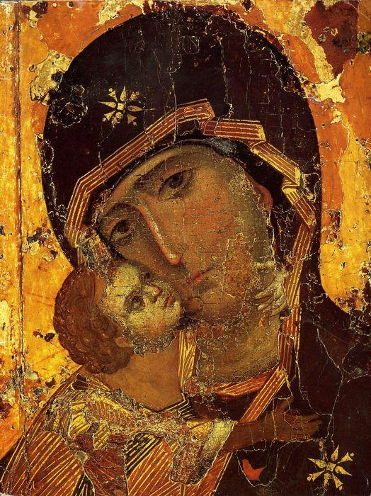 икона Владимирской Божией Матери,
