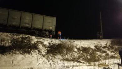 Photo of Поезд сошёл с рельсов из-за двадцатиметрового карстового провала