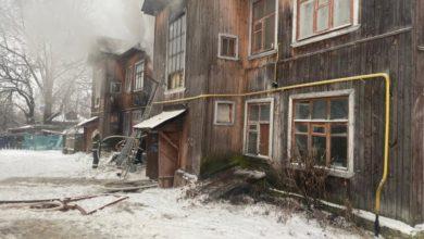 Photo of На пожаре в многоквартирном доме погибла пожилая женщина