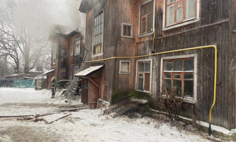 пожар Никологоры Первомайская