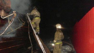 Photo of Ночью в Никологорах сгорел жилой дом