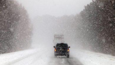 Photo of Снег и на дорогах гололедица