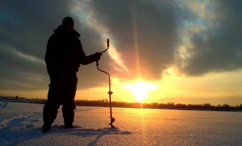 зимняя рыбалка,