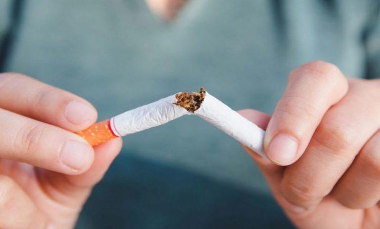 бросить курить,переломить сигарету,