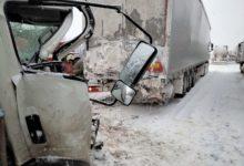 Photo of ДТП на трассе: спасатели вырезали водителя из груды металла