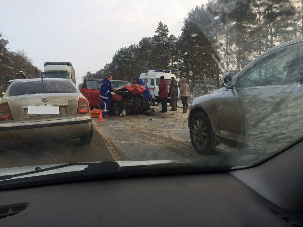 ДТП Муромский район Зимёнки,