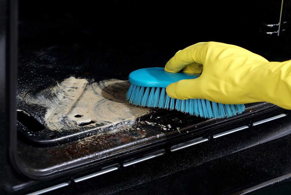 духовка,чистим духовку,