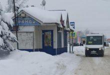 Photo of В Вязниках длительное время снег складировали буквально на остановках