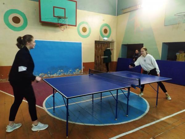 настольный теннис Паустово,