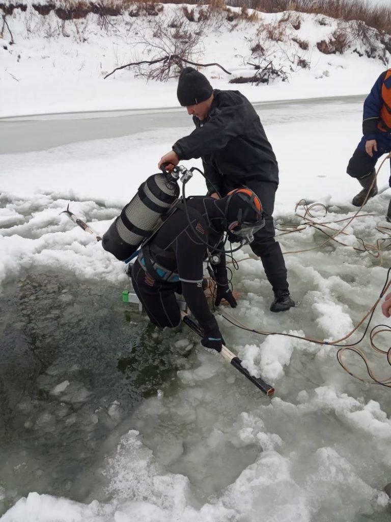 Ока Меленковский район поиски утонувших рыбаков зимой,