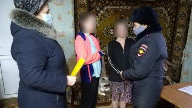 Photo of Полицейские проверили семьи, состоящие на учётах