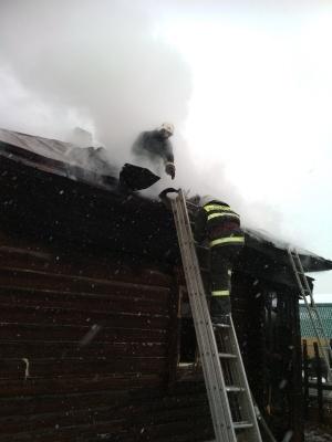 пожар Гороховец 1 Мая 7 января 2021,