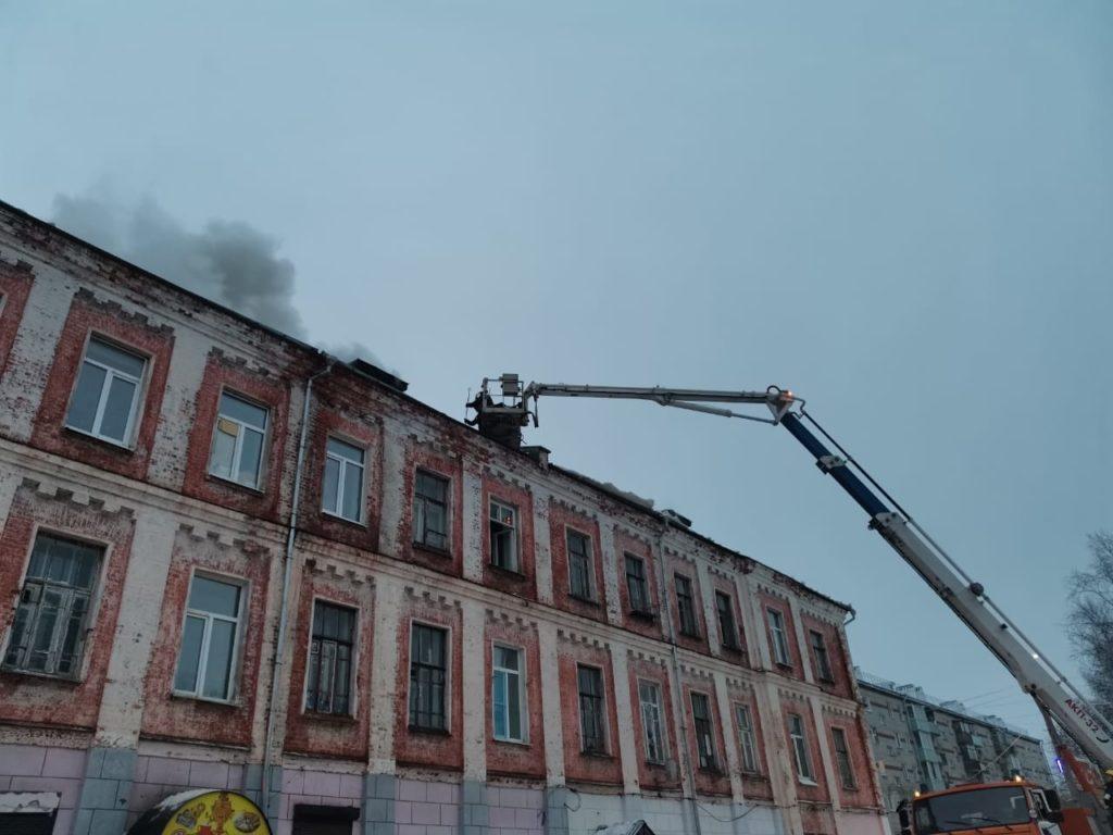 пожар 4 января 2021 Собинка казармы,