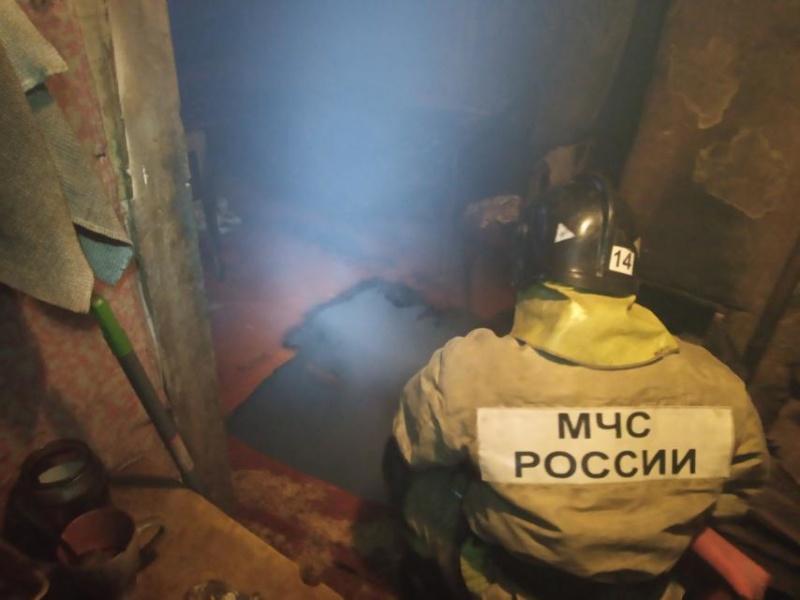 пожар Клязьменский городок