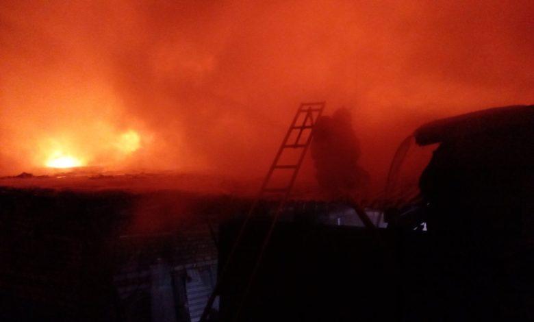 пожар 5 января Мстёра торговые ряды,