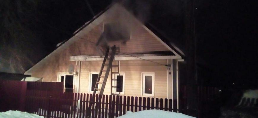 пожар Мстёра Западный переулок дом 2,