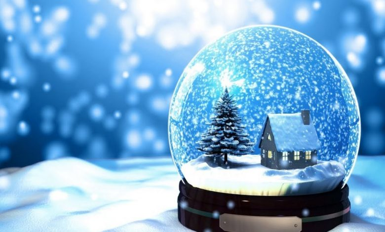 снежный шар,новогодний шар,стеклянный шар со снегом,загадать желание на Рождество,шар желаний,