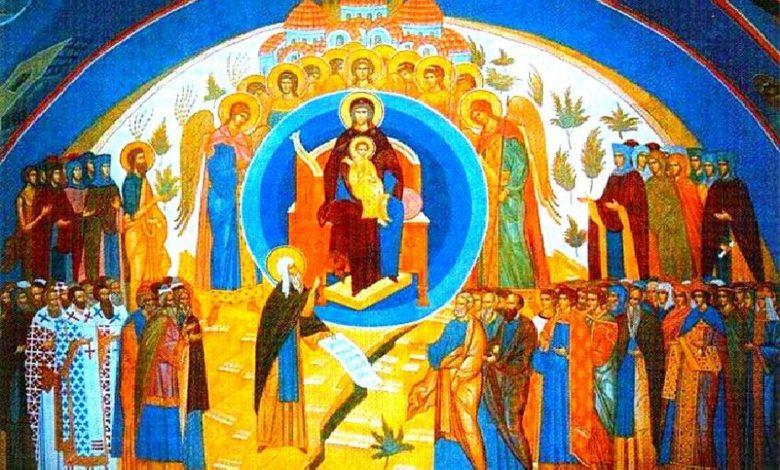 Собор Пресвятой богородицы,икона Собор пресвятой Богородицы,