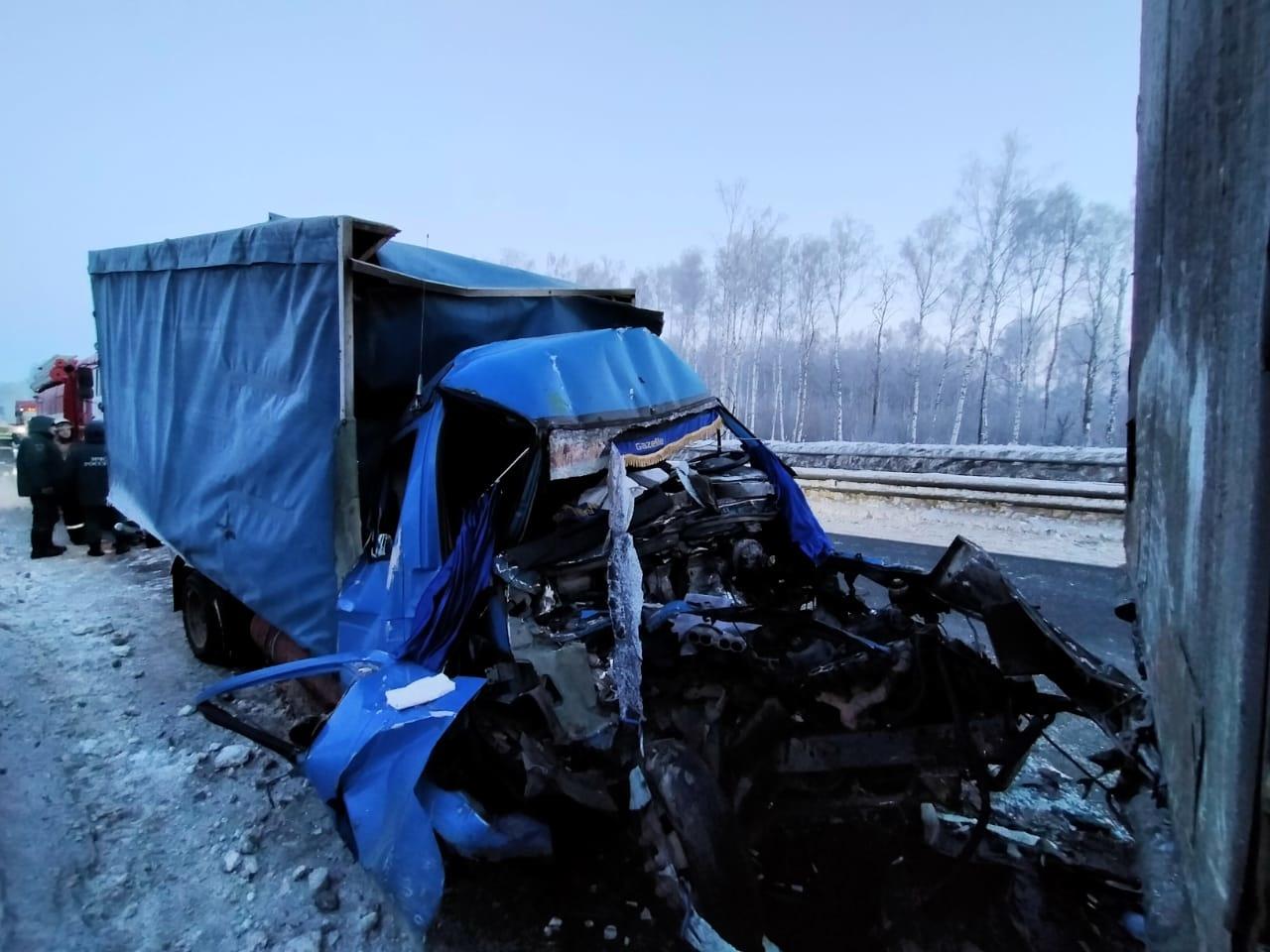 ДТП Вязниковский район М-7 306 км 20 февраля 2021,